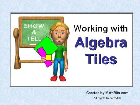 Algebra tiles working with algebra tiles ibookread PDF