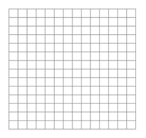 14 X 14 Blank  Graph Sheet Download