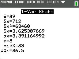 Statistics 1 Mean Absolute Deviation